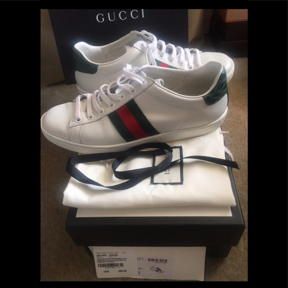 Gucci Shoes - Gucci Ace sneakers women 6.5 Like New